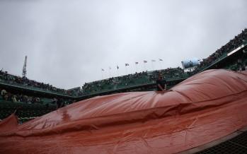 ROLAND GARROS : Piove  a Parigi  gioco a singhiozzo