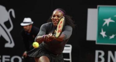 Internazionali BNL d'Italia: nessun problema per Serena, Bouchard avanti in tre set