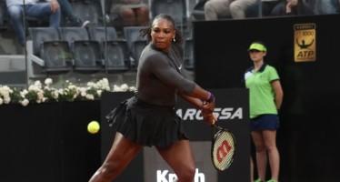 Internazionali BNL d'Italia: Serena avanti tutta, fuori la Suarez Navarro