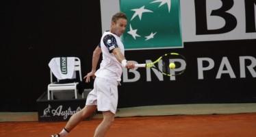 Internazionali BNL d'Italia: Volandri per due set  gioca alla pari con Ferrer