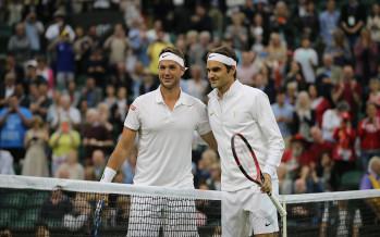 WIMBLEDON :  Roger Federer spezza il sogno di Marcus Willis