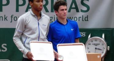 ROLAND GARROS : Geoffrey Blancaneux un francese campione juniores