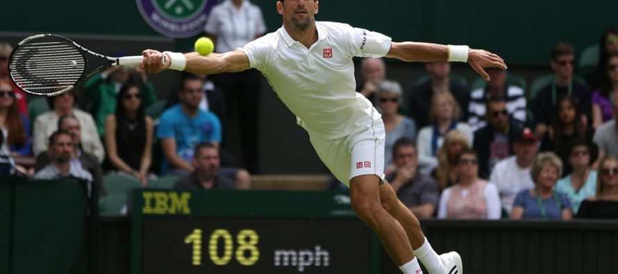 WIMBLEDON : Facile Djokovic, Federer fatica due set, i risultati