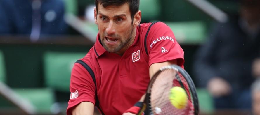 ROLAND GARROS : Novak Djokovic un passo verso il titolo