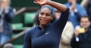 Fiori d'arancio per Serena Williams.