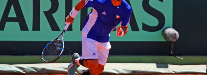 FOGNINI vs DELBONIS : Il terzo set va all'Italia