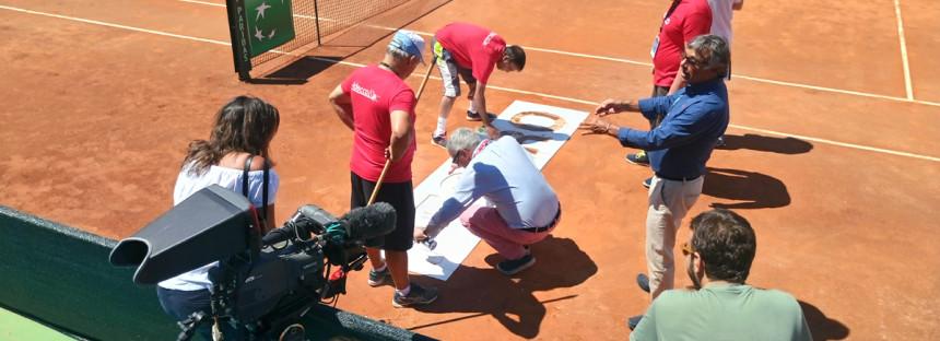 Coppa Davis: sul campo appare la location