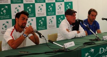 """Coppa Davis : Paolo Lorenzi """"Stavamo giocando meglio di loro"""""""