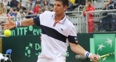 Coppa Davis : Delbonis fa il fenomeno, avanti due set ad uno