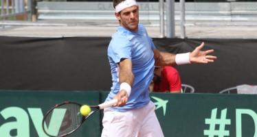 ATP 250 STOCCOLMA :  Juan Martin Del Potro in finale , sconfitto Dimitrov