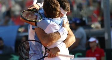 Coppa Davis : doppio a Del Potro/Pella, l'Argentina conduce 2-1