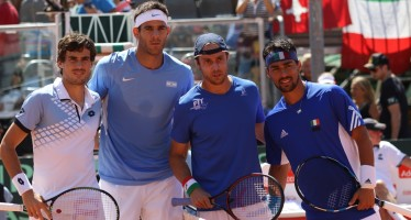 Coppa Davis : Doppio in campo Argentina avanti due set a zero