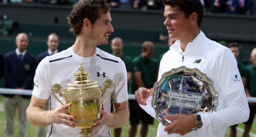 WIMBLEDON : Andy Murray secondo trionfo, Raonic cede in tre set