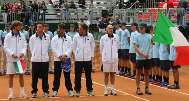 COPPA DAVIS: al primo turno trasferta in Argentina per l'Italia
