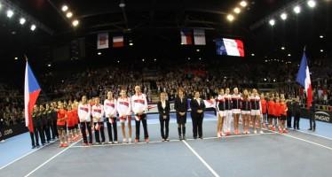 FED CUP : La Francia sfida la Repubblica Ceca