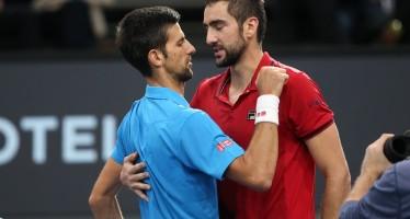 BNP PARIBAS MASTERS : Marin Cilic si offre il n.1 del mondo, Novak Djokovic cede in due set