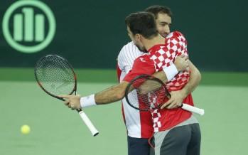 FINALE DAVIS : La Croazia vince il doppio ed ipoteca la Coppa