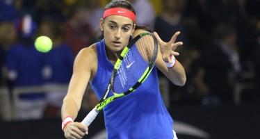 FED CUP 2016 : Carolina Garcia annienta Petra Kvitova Francia in parità