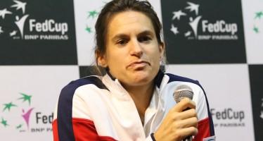 FedCup : Amelie Mauresmo si dimette da capitano della Francia