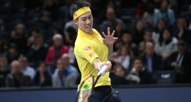 Barclays ATP World Tour Finals : Bene Djokovic e Raonic, Nishikori stende Wawrinka