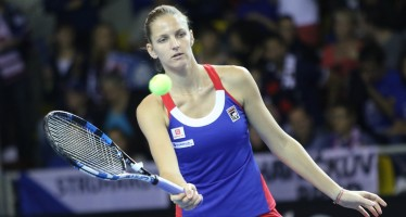 FED CUP 2016 : A Karolina Pliskova  il secondo set