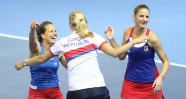 FED CUP 2016 : FedCup alla Repubblica Ceca, crolla il doppio francese
