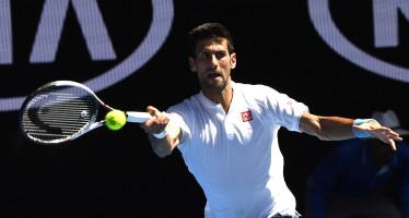 """Australian Open: (Djokovic) """"cali di rendimento? E' tutto merito di Istomin"""""""