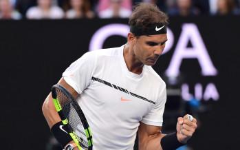 AUS OPEN :  Indomabile Nadal, annienta Raonic e si qualifica per la semifinale