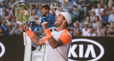 AUSTRALIAN OPEN :  Fuori Andy Murray, Misha Zverev si impone in 4 set