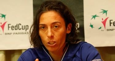"""FedCup Italia Slovacchia 1-3 : Francesca Schiavone """"Sono stati 15 anni meravigliosi"""""""