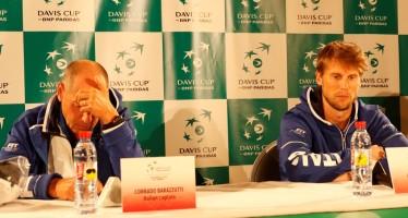 """COPPA DAVIS BELGIO-ITALIA 2-0 : Corrado Barazzutti """" Risultato da accettare"""""""