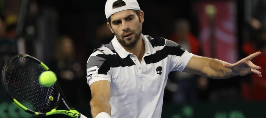 ATP Stoccolma : Simone Bolelli qualificato, in tabellone anche Fognini e Giannessi