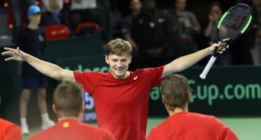 COPPA DAVIS : Belgio-Australia 2-2 Goffin porta il Belgio in parità