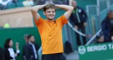 MONTE-CARLO ROLEX MASTERS : Goffin magistrale, Djokovic si arrende al terzo