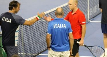 COPPA DAVIS BELGIO-ITALIA 1-0 : Crolla Lorenzi, Darcis porta il primo punto al Belgio