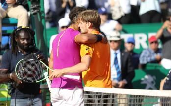 MONTE-CARLO ROLEX MASTERS : Rafael Nadal 11esima finale,  Goffin lascia via libera