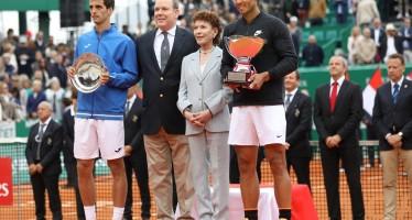 MONTE-CARLO ROLEX MASTERS : Nadal dieci volte campione, i numeri della finale