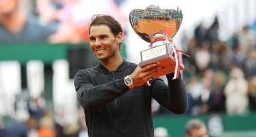 """MONTE-CARLO ROLEX MASTERS : Rafael Nadal """"Vittoria incredibile, difficile da descrivere"""""""
