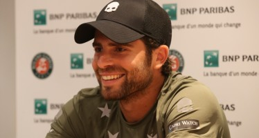 """ROLAND GARROS : Simone Bolelli """"Era tanto che non giocavo un torneo così importante"""""""