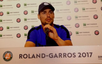 ROLAND GARROS : Fabio Fognini Con Andreas partita difficile