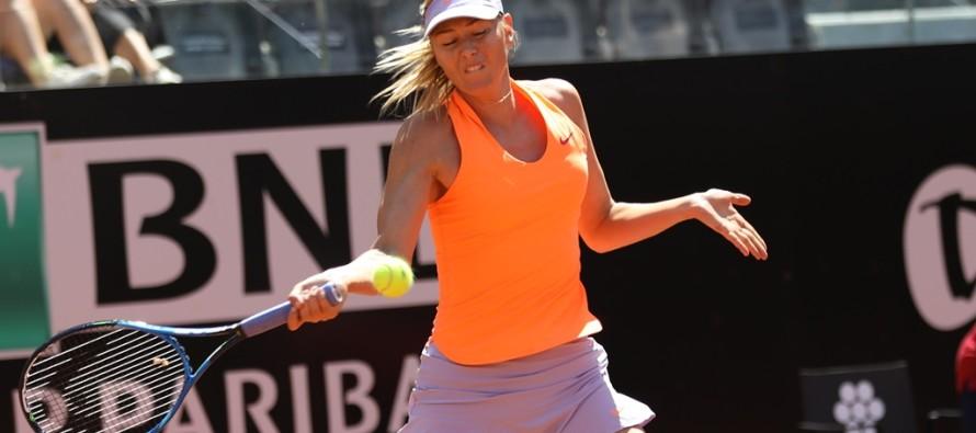 WTA TANJIN : Maria Sharapova torna alla vittoria