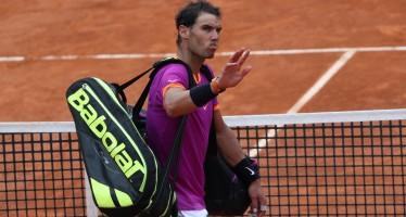 IBI 2017 : Rafael Nadal arrivederci Roma