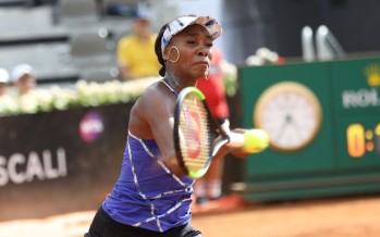 Roma: Venus Williams elimina la Tsurenko