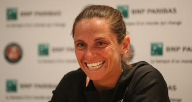 """ROLAND GARROS : Roberta Vinci """"Il più bel ricordo di Parigi, il doppio vinto con Sara"""""""