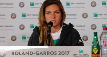 ROLAND GARROS : Simona Halep Sono stata spettatrice in campo