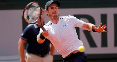 ROLAND GARROS : Andy Murray completa il quadro delle semi, fuori Nishikori