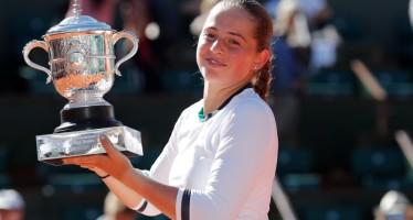 ROLAND GARROS : Jelena Ostapenko primo Slam a vent'anni