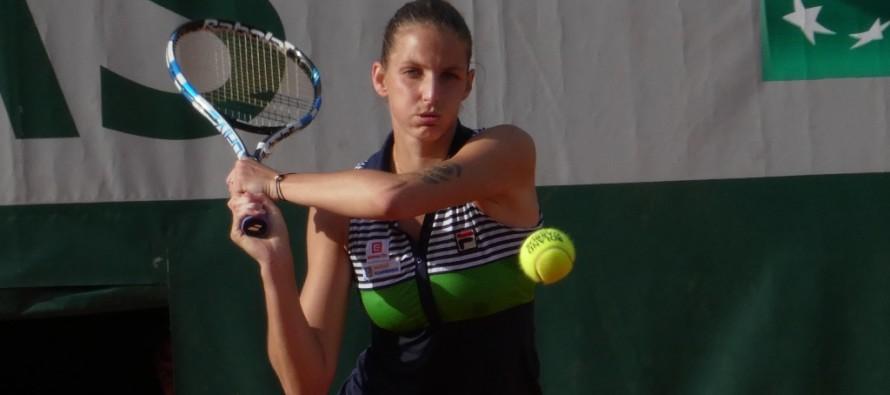 ROLAND GARROS : Karolina Pliskova si salva al terzo