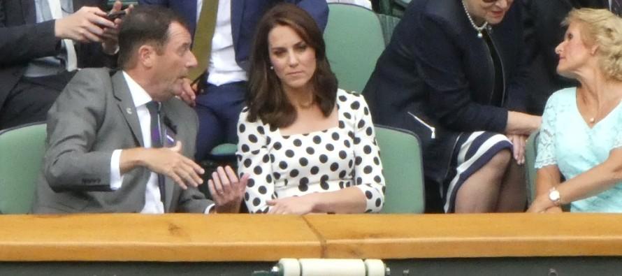 WIMBLEDON : Kate Middleton in tribuna per Murray