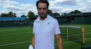 WIMBLEDON : Paolo Lorenzi 35 anni ed essere testa di serie a Wimbledon